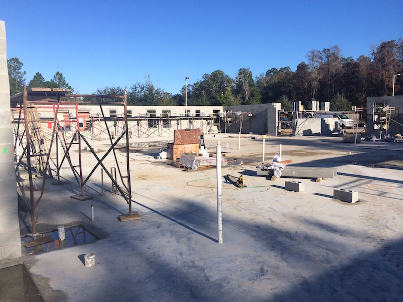 Memory Lane Cottage Tampa Palms Construction  00  December 2014